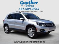 2016 Volkswagen Tiguan SE. 2.0L TSI Turbocharged engine
