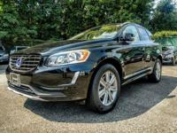 AWD. 2016 Volvo XC60 T6 Black CARFAX One-Owner. 6-Speed