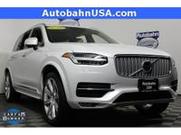Crystal White Pearl 2016 Volvo XC90 T6 Inscription AWD
