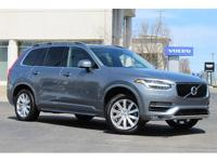 We are proud to present to you this 2016 Volvo XC90 T6