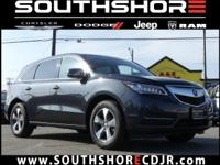 CARFAX One-Owner. Clean CARFAX. 2016 Acura MDX 3.5L AWD