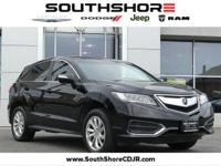 CARFAX One-Owner. Clean CARFAX. 2016 Acura RDX Base AWD