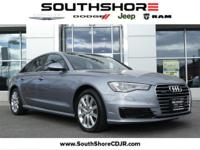 CARFAX One-Owner. 2016 Audi A6 2.0T Premium Plus