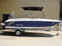 2016 Bayliner Element XL Blue SpecificationsLOA 18'2""