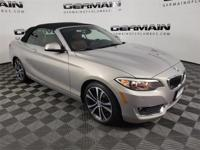 2016 BMW 2 Series 228i Convertible with Luxury package,