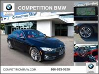 FUEL EFFICIENT 33 MPG Hwy/21 MPG City! BMW Certified,
