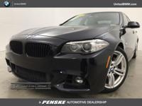 M-Sport ! BMW CERTIFIED with Unlimited Miles Warranty !
