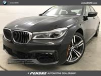 CARFAX 1-Owner, BMW Certified, ONLY 38,301 Miles! Black