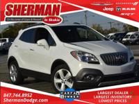 CARFAX One-Owner. Summit White 2016 Buick Encore