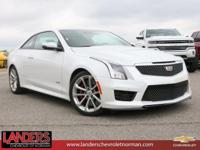 CARFAX One-Owner. Crystal White Frost 2016 Cadillac