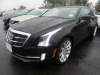 2016 Cadillac ATS 2.0L Turbo Luxury Certified. Cadillac