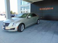 This outstanding example of a 2016 Cadillac ATS Sedan