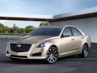 This 2016 Cadillac CTS 2.0L Turbo Luxury is a real