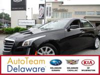 2016 Cadillac CTS 2.0L Turbo Certified. Recent Arrival!