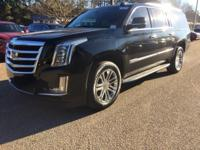 Black Raven 2016 Cadillac Escalade ESV RWD 8-Speed