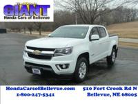 This 2016 Chevrolet Colorado 2WD LT is offered to you