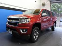Clean CARFAX. Red 2016 Chevrolet Colorado LT 4WD