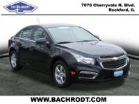 Certified. Cruze Limited 1LT CARFAX One-Owner. Clean