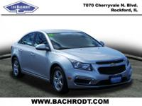 Cruze Limited 1LT CARFAX One-Owner. Clean CARFAX.