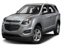 Options:  2016 Chevrolet Equinox Ls|Awd. There's No