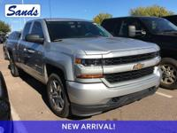 Clean CARFAX. Silver Ice Metallic 2016 Chevrolet