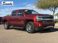 CARFAX One-Owner. Siren Red Tintcoat 2016 Chevrolet