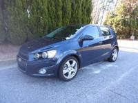 We are excited to offer this 2016 Chevrolet Sonic. Your