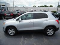 Come see this 2016 Chevrolet Trax LT. Its Automatic