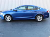 This Chrysler 200 is the Limited model and has features