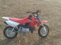 2016 crf 50 asking $1400.00 well taken care of, has not