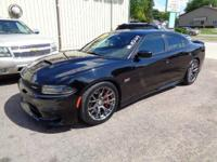 Pitch Black Clearcoat 2016 Dodge Charger SRT 392 Recent