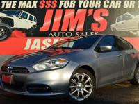 2016 Dodge Dart SXT - 2.0L 4cyl. - Cloth Interior