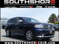 CARFAX One-Owner. Clean CARFAX. 2016 Dodge Durango
