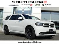 CARFAX One-Owner. 2016 Dodge Durango R/T Bright White