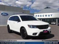 White 2016 Dodge Journey R/T AWD 6-Speed Automatic 3.6L