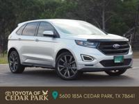 CARFAX One-Owner. Ingot Silver Metallic 2016 Ford Edge