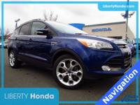 CARFAX One-Owner. Clean CARFAX. Deep Impact Blue 2016