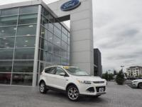 White Platinum Metallic Tri-Coat 2016 Ford Escape