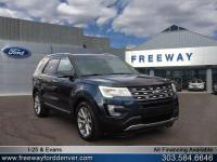 Blue Jeans Metallic 2016 Ford Explorer Limited AWD