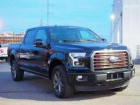 Shadow Black 2016 Ford F-150 Lariat 4WD 6-Speed