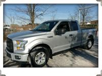 2016 ford f150 super cab xl sport 4wd silver with gray