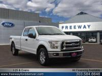 Oxford White 2016 Ford F-150 XLT 4WD 6-Speed Automatic