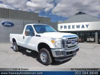 Oxford White 2016 Ford F-250SD XL 4WD TorqShift 6-Speed
