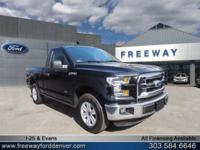 Shadow Black 2016 Ford F-150 XLT RWD 6-Speed Automatic