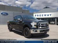 Shadow Black 2016 Ford F-150 4WD 6-Speed Automatic