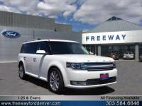 White Platinum Clearcoat Metallic 2016 Ford Flex