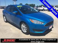 Blue 2016 Ford Focus SE FWD Automatic 2.0L 4-Cylinder