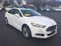 Come see this 2016 Ford Fusion Titanium. Its Automatic