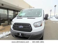 This Ford Transit Cargo Van delivers a Regular Unleaded