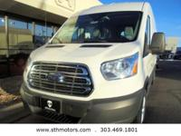 This Ford Transit Cargo Van delivers a Twin Turbo